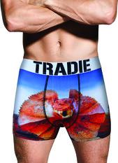 Tradie Men's Frills And Thrills Trunk, Print, bcf_hi-res