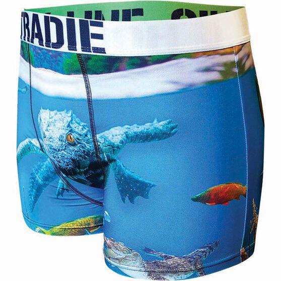 Tradie Men's Crocodile Underwear Print M Men's, Print, bcf_hi-res