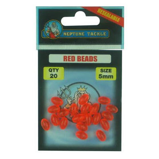 Neptune Red Beads 20 Pack, , bcf_hi-res