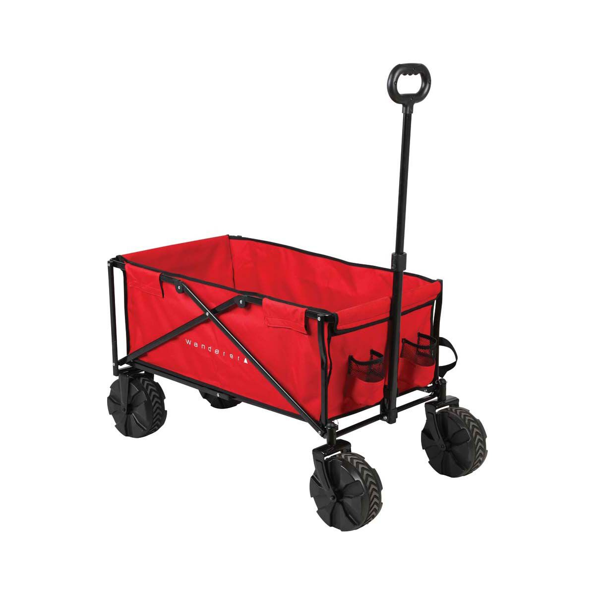 Pier Cart Wagon for Beach Surf Plastic Wheels Rod Holders Cooler Surface Rack