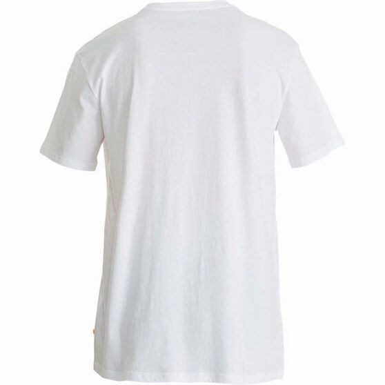 Quiksilver Men's Established II Tee White 2XL Men's, White, bcf_hi-res