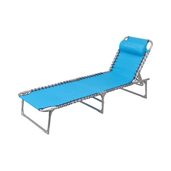 Wanderer Blue Beach Lounger, , bcf_hi-res