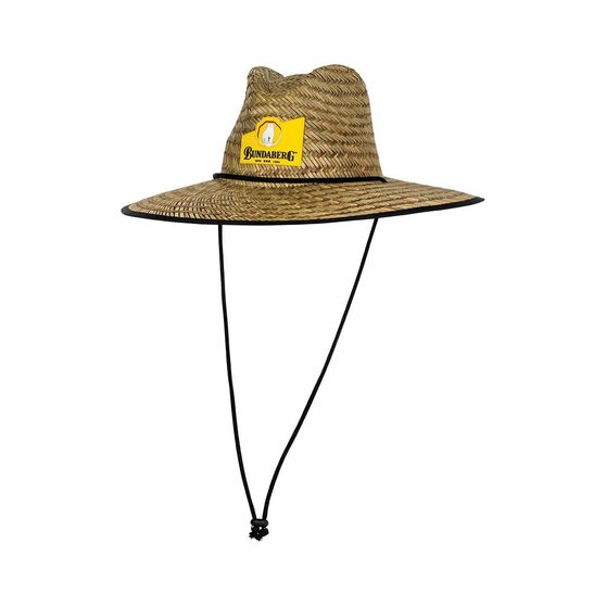 Bundaberg Rum Men's Straw Hat, , bcf_hi-res