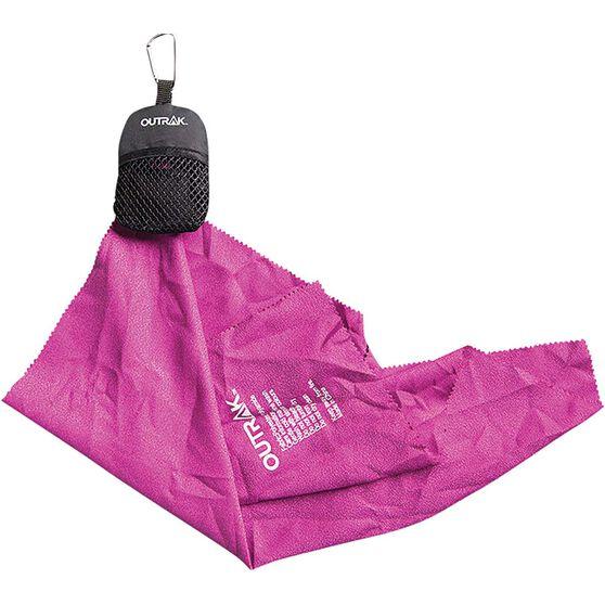 OUTRAK Hiking Micro Towel Purple, Purple, bcf_hi-res