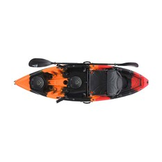 Pryml Legend Fishing Kayak Pack Black / Orange, Black / Orange, bcf_hi-res
