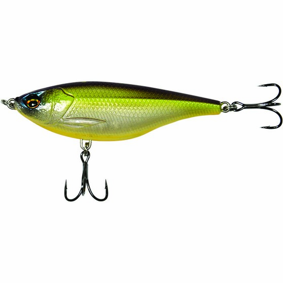 Savage Gear 3D Twitch Reaper Sinking Surface Lure 9cm Chartreuse 9cm, Chartreuse, bcf_hi-res
