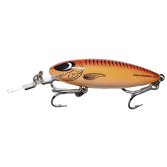 Reidy's Little Lucifer Deep Hard Body Lure 65mm Red 65mm, Red, bcf_hi-res