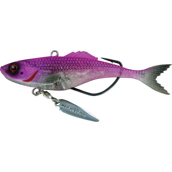 Chasebaits Rip Snorter Vibe Lure 90mm Pink, Pink, bcf_hi-res