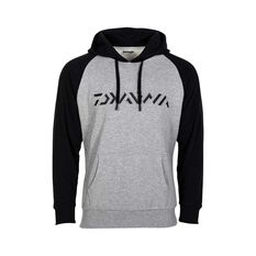Daiwa Men's Hooded Sweater Grey Marle S, , bcf_hi-res