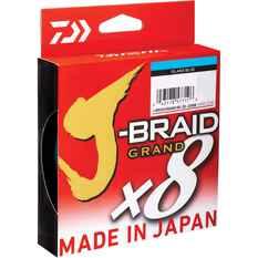 Daiwa J-Braid Grand Braid Line Blue 150yd 6lb, Blue, bcf_hi-res