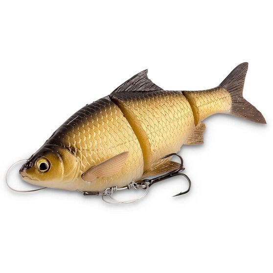 Savage 3D Roach Line Thru Swim Bait Lure 18cm, , bcf_hi-res
