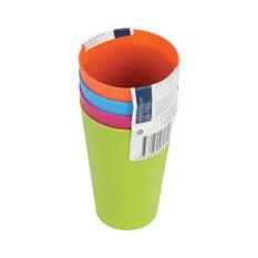Plastic Tumblers 4 Pack, , bcf_hi-res