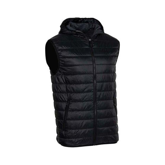 OUTRAK Men's Reversible Puffer Vest, Black / Navy, bcf_hi-res