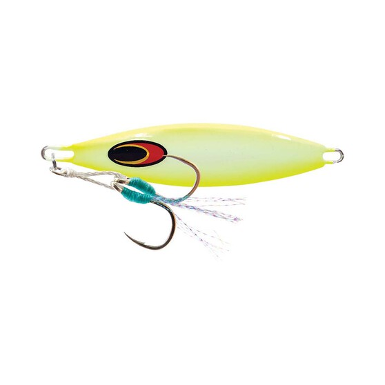 Nomad Buffalo Jig Lure 80g Chartreuse White Glow, Chartreuse White Glow, bcf_hi-res