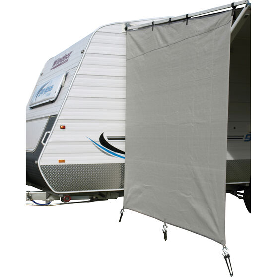Camec Caravan Privacy Screen, , bcf_hi-res