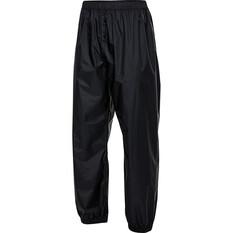 OUTRAK Men's Packaway Rain Pants Black S, Black, bcf_hi-res
