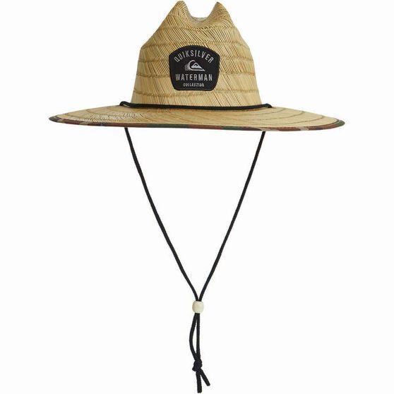 Quiksilver Men's Outsider Straw Hat, Dark Forest, bcf_hi-res