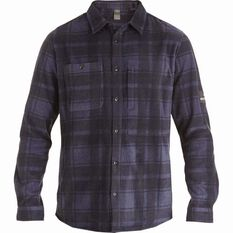 Quiksilver Waterman North Sea Expedition Long Sleeve Shirt Parsian Night S, Parsian Night, bcf_hi-res