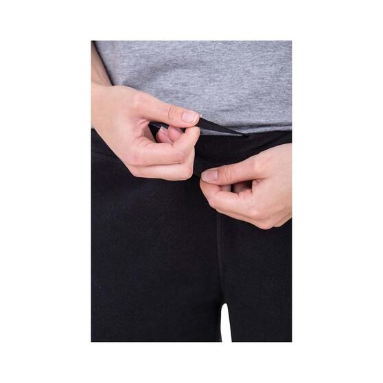 Macpac Women's Tui Polartec Micro Fleece Pants, Black, bcf_hi-res