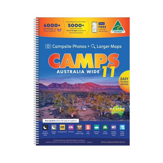 Hema Camps 11 Australia Wide Snap Book, , bcf_hi-res