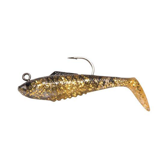 Squidgies Slick Rig Soft Plastic Lure 100mm Black Gold, Black Gold, bcf_hi-res