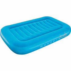 Wanderer Kids Velour Air Bed Blue, Blue, bcf_hi-res