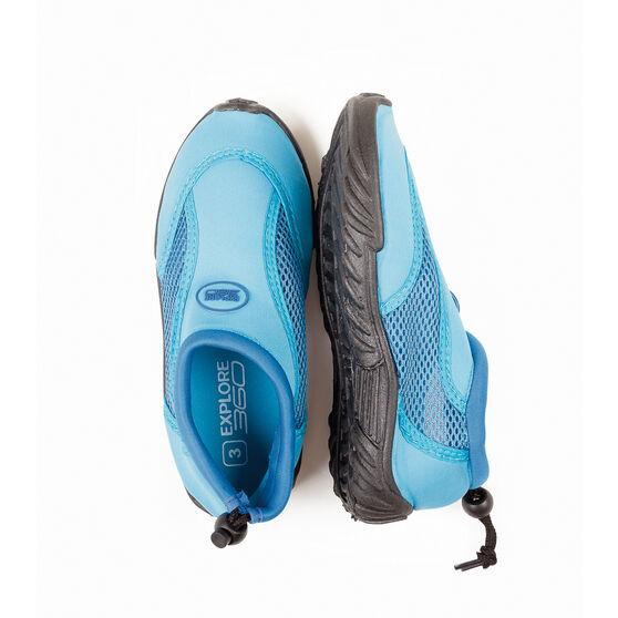BCF Kids' Beachcomber II Aqua Shoes Blue K2, Blue, bcf_hi-res