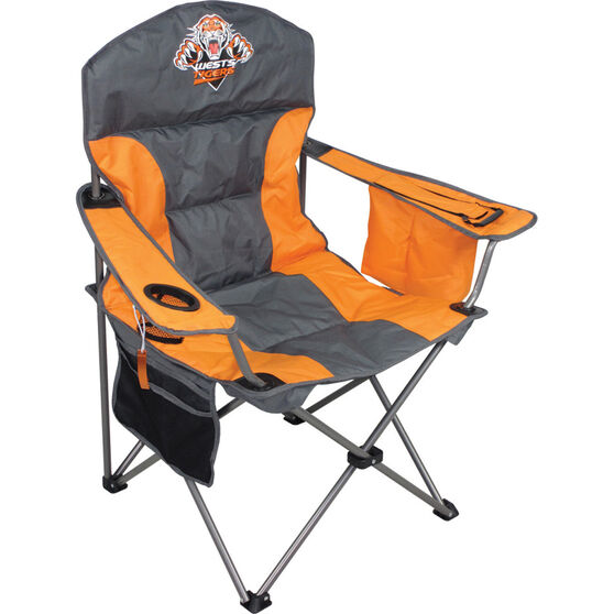 NRL Wests Tigers Camp Chair, , bcf_hi-res