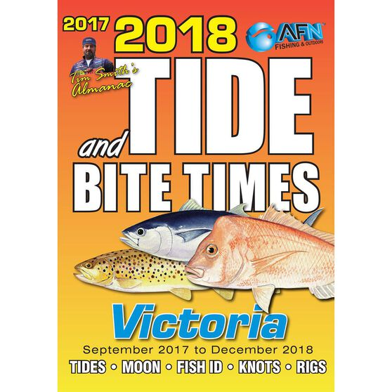 Tide and Bite Guide 2018 Victoria, , bcf_hi-res
