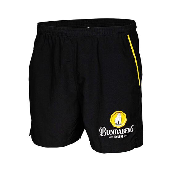 Bundaberg Rum Men's Casual V2 Shorts, Black, bcf_hi-res