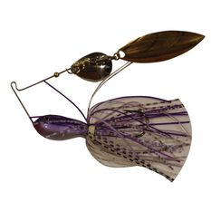 Tackle Tactics Vortex Spinner Bait Lure 1 / 2oz Purple Mauve, Purple Mauve, bcf_hi-res