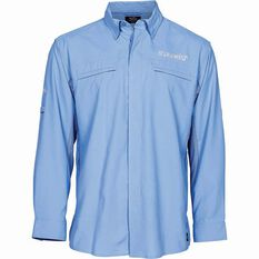 G.Loomis Men's Long Sleeve Fishing Shirt Blue S, Blue, bcf_hi-res