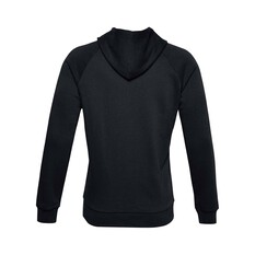 Under Armour Men's Rival Fleece Hoodie Black / Barren Camo S, Black / Barren Camo, bcf_hi-res