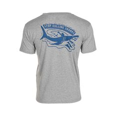 Tide Apparel Men's Cull Tee Grey S, Grey, bcf_hi-res