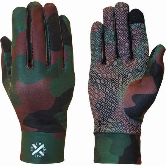XTM Men's Arctic Liner Gloves Army Camo 2XL, Army Camo, bcf_hi-res