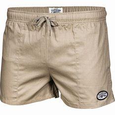 Tide Apparel Men's Yabbies Shorts Khaki 32, Khaki, bcf_hi-res