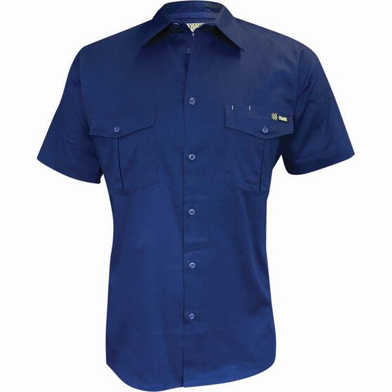 Tradie Men's Short Sleeve Drill Shirt, , bcf_hi-res