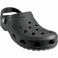 Crocs Unisex Classic Clog Black US M4 / W6, Black, bcf_hi-res