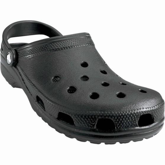 Crocs Unisex Classic Clog, Black, bcf_hi-res