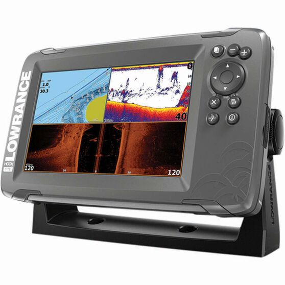 Lowrance Hook2-7 TripleShot Combo Including Transducer and CMAP, , bcf_hi-res