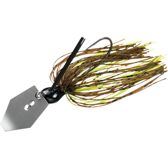 Daiwa Steez Chatterbait Lure Summer Craw 1/4oz, Summer Craw, bcf_hi-res