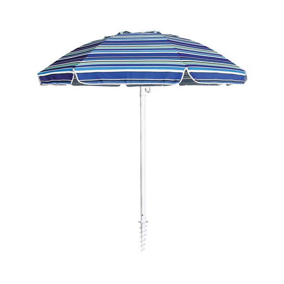 Wanderer Summer Stripe Umbrella 2m, , bcf_hi-res