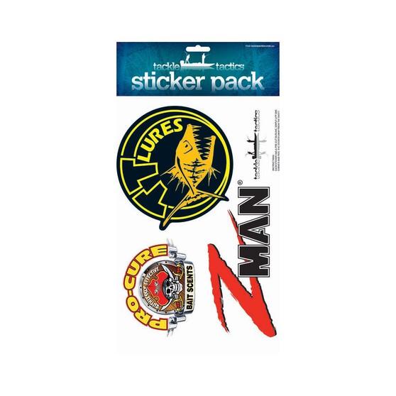 Tackle Tactics Logo Sticker, , bcf_hi-res