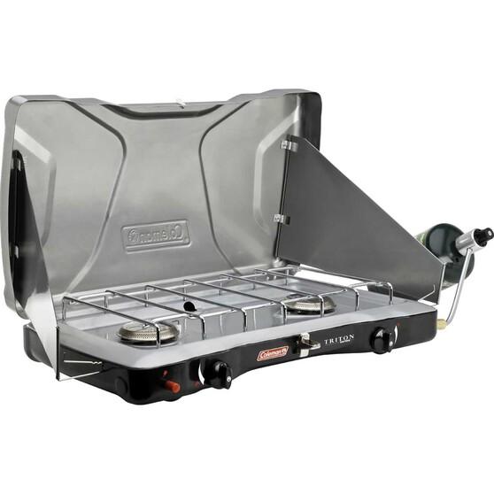 Coleman Triton Instastart Gas Portable Stove 2 Burner, , bcf_hi-res