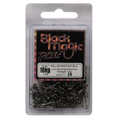 Black Magic Rolling Snap Swivel 29 Pack, , bcf_hi-res