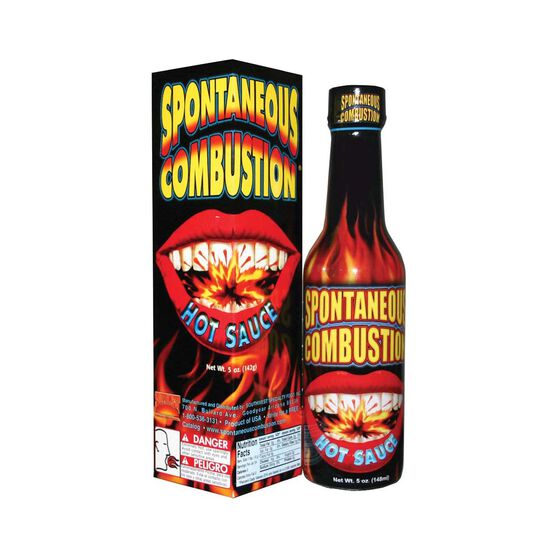 Hatcher Spontaneous Combustion Hot Sauce 148ml, , bcf_hi-res