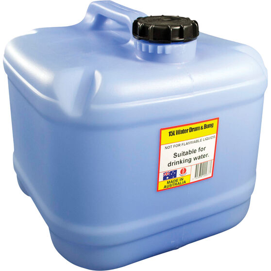 15L Water Drum with Bung, , bcf_hi-res