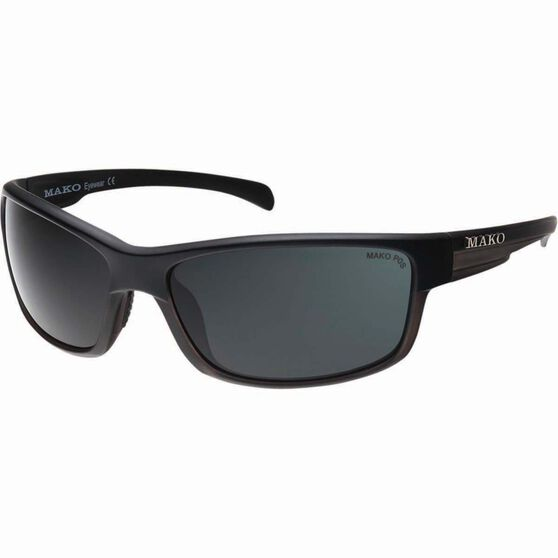 MAKO Shadow Polarised Sunglasses Matt Black, Matt Black, bcf_hi-res