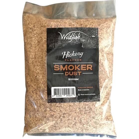 Wildfish Hickory Smoker Dust 500g, , bcf_hi-res