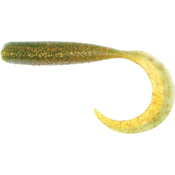 Savage Curltail Soft Plastic Lure 14cm Motor Oil Gold, Motor Oil Gold, bcf_hi-res
